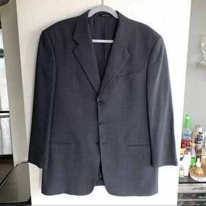 42R Armani Collezioni Wool Blend Suit Jacket